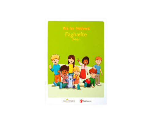 Free of bullying booklet - 3-6 years