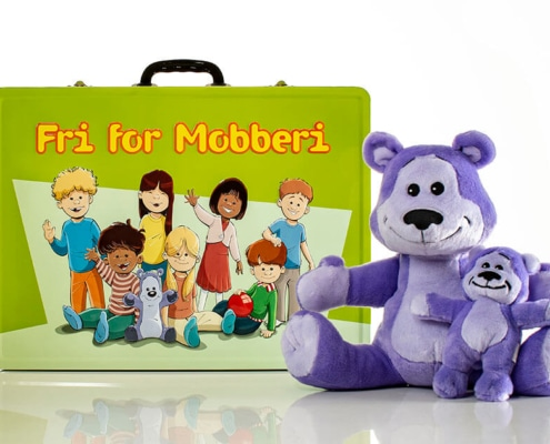 Free of bullying suitcase 3-6 years - suitcase and Buddy Bear
