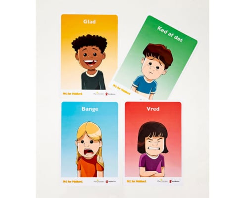 Free of Bullying emotion posters - 0-6 years