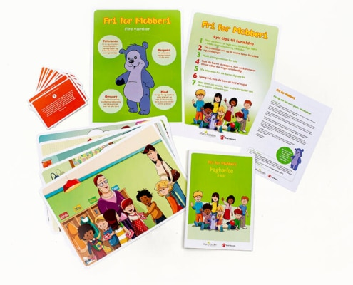 Free of Bullying materials for professionals and parents - 3-6 years